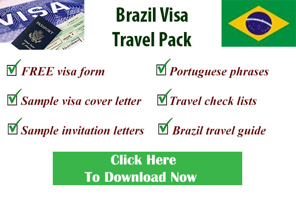 Brazilian visa form