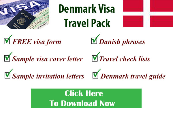 Danish visa form