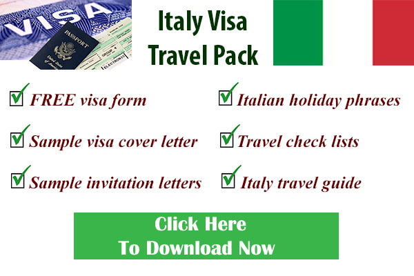Travel Visa Information | Travel Visa, Forms, Letters and More on italy study, italy visa information, italy tourism, italy tourist visa, italy visa requirements, italy visa application letter sample, italy business,