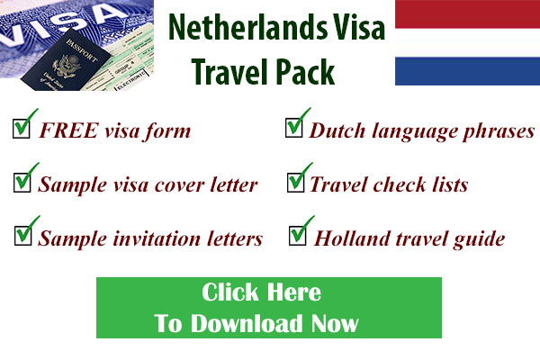Travel visa information travel visa forms letters and more dutch visa form stopboris Gallery