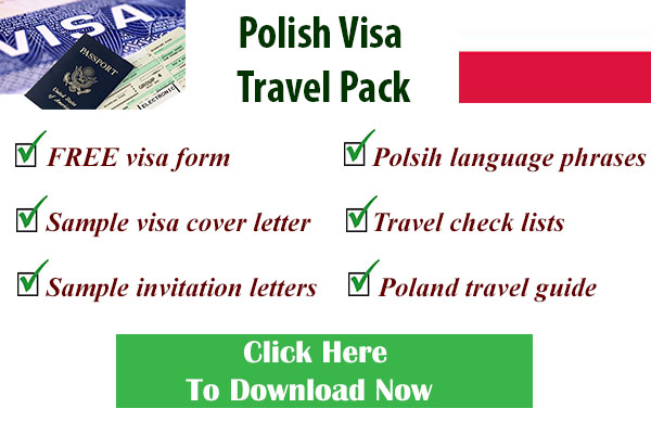 Polish visa form
