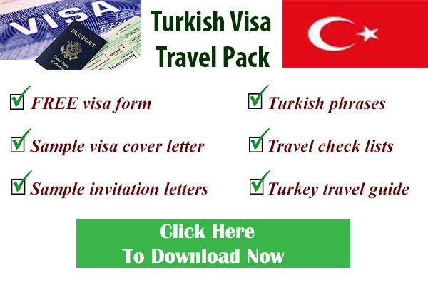 Turkish visa form